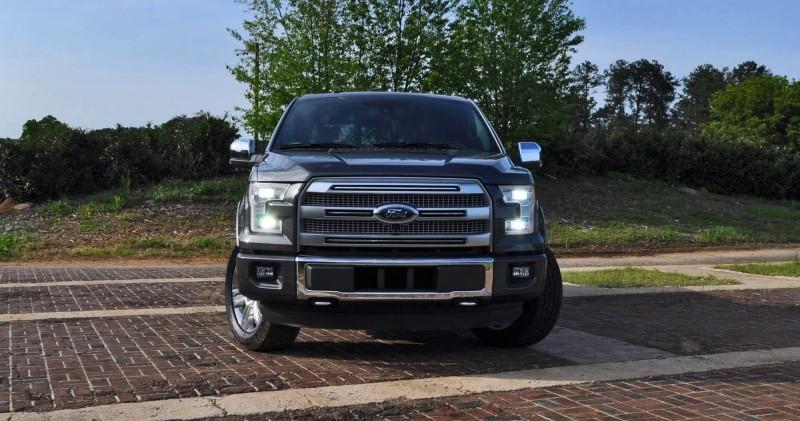 2015 Ford F-150 Platinum 4x4 Supercrew Review 32