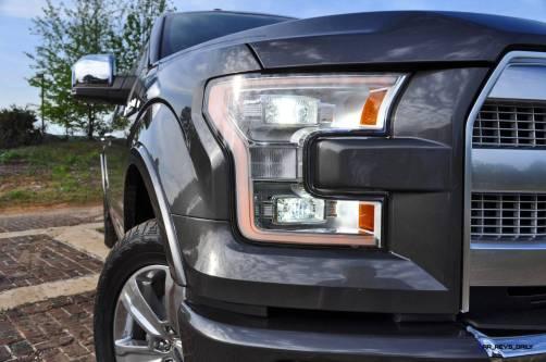 2015 Ford F-150 Platinum 4x4 Supercrew Review 38