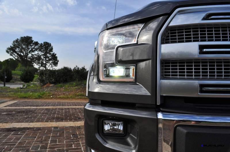 2015 Ford F-150 Platinum 4x4 Supercrew Review 50