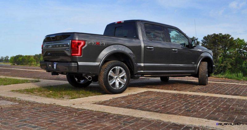 2015 Ford F-150 Platinum 4x4 Supercrew Review 68