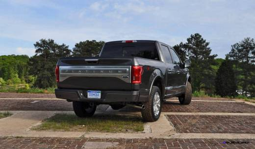 2015 Ford F-150 Platinum 4x4 Supercrew Review 77
