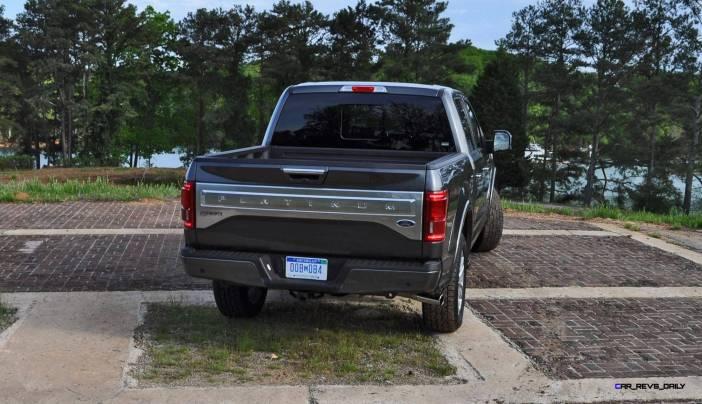 2015 Ford F-150 Platinum 4x4 Supercrew Review 82