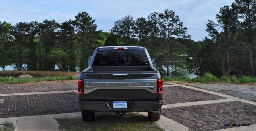 2015 Ford F-150 Platinum 4x4 Supercrew Review 87