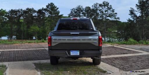 2015 Ford F-150 Platinum 4x4 Supercrew Review 88