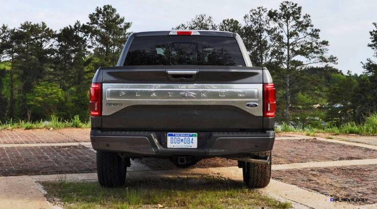 2015 Ford F-150 Platinum 4x4 Supercrew Review 89