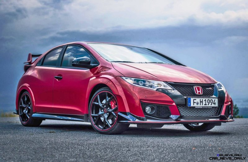 2015 Honda Civic Type R European Dynamic Launch 12