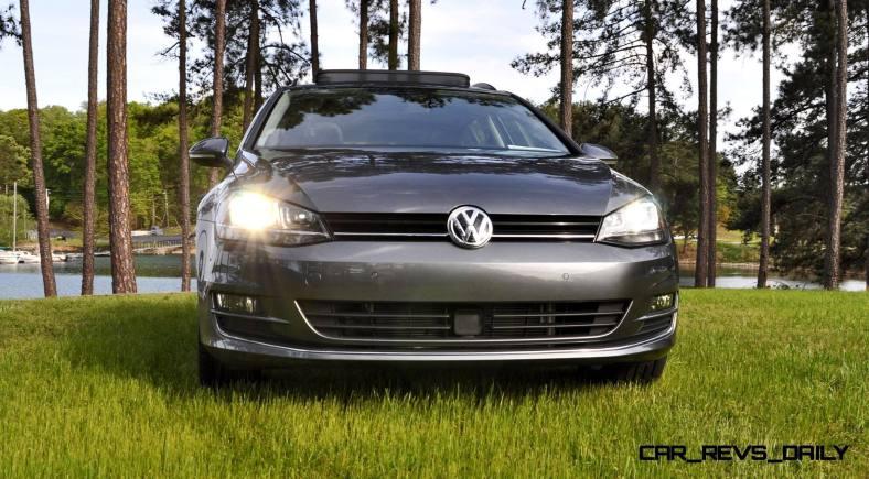 2015 VW Golf Sportwagen TDI SE 63
