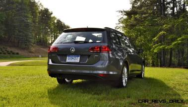 2015 VW Golf Sportwagen TDI SE 75