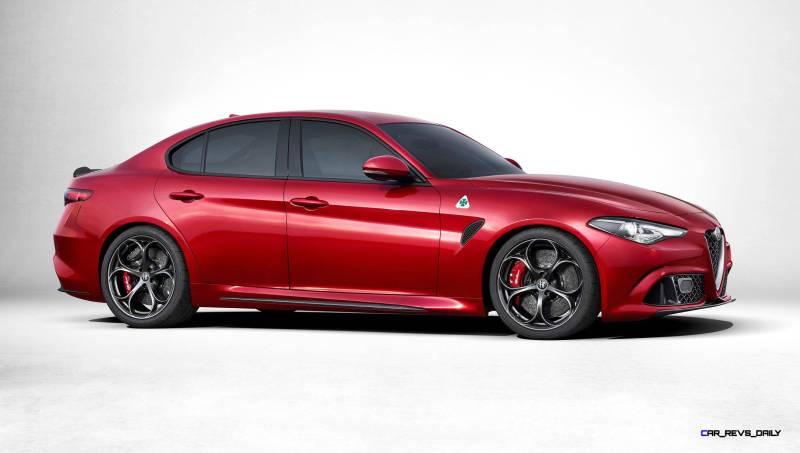 2016 Alfa Romeo GUILIA Quadrifoglio 2