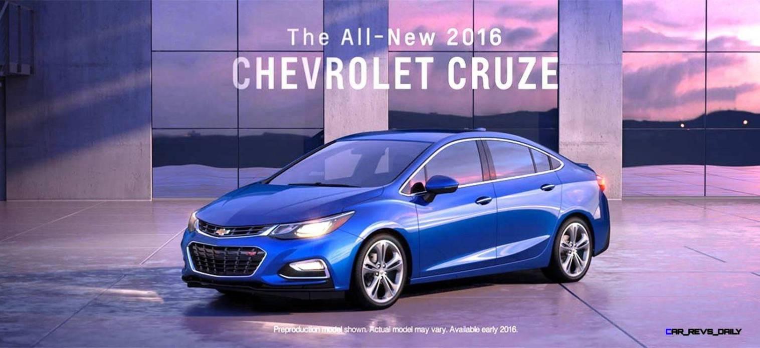 2016 Chevrolet CRUZE RS Premier 12