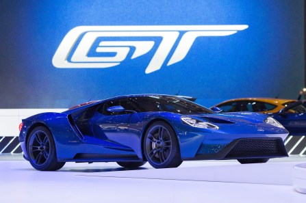 2017 Ford GT Blue New 11