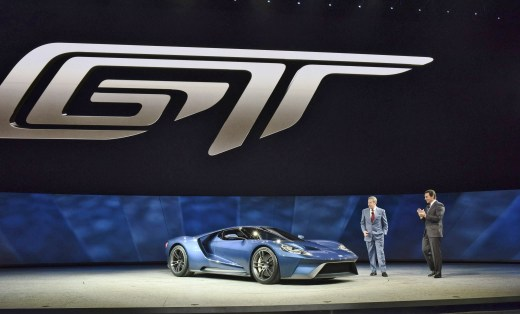 Ford and Fields introduce Ford GT at NAIAS