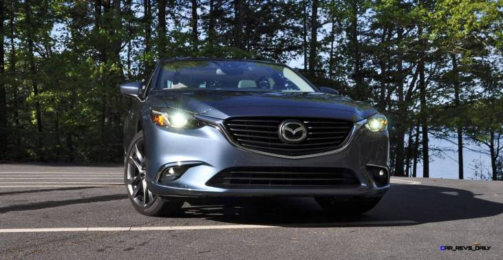 HD Drive Review Video - 2016 Mazda6 Grand Touring 53
