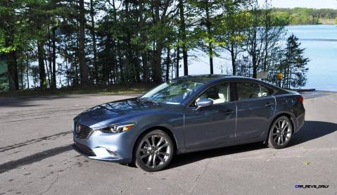 HD Drive Review Video - 2016 Mazda6 Grand Touring 87
