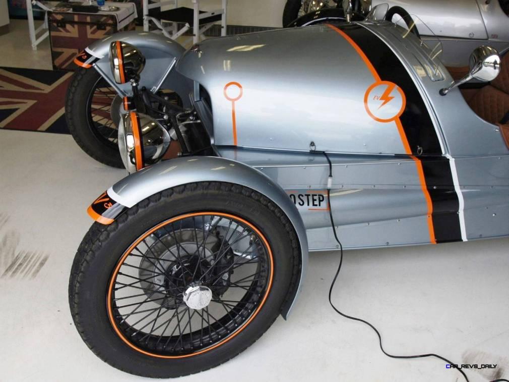Morgan EV 3 Wheeler 9