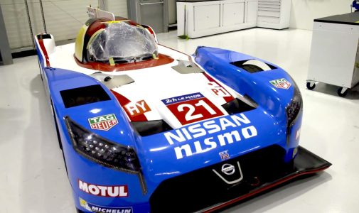 Nissan celebrates 1990 pole lap of Le Mans with retro livery for
