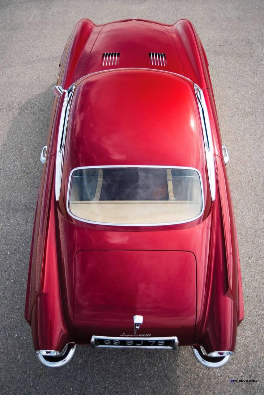 1952 Jaguar XK120 SuperSonic by Ghia 32