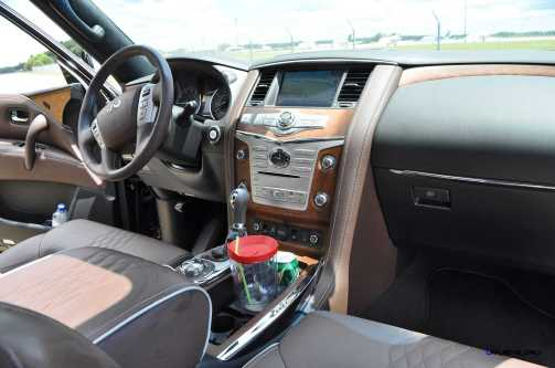 2015 INFINITI QX80 Limited AWD 74