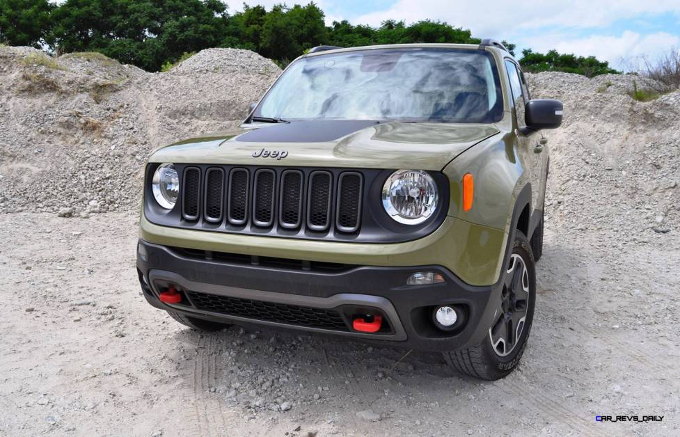 2015 Jeep RENEGADE Trailhawk Review 100