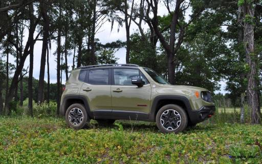 2015 Jeep RENEGADE Trailhawk Review 42