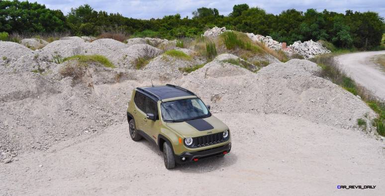 2015 Jeep RENEGADE Trailhawk Review 94
