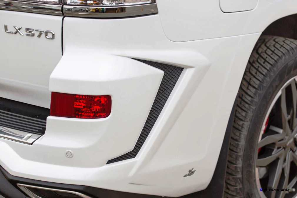 LARTE Design Lexus LX570 Alligator Bodykit White 12
