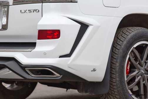 LARTE Design Lexus LX570 Alligator Bodykit White 27