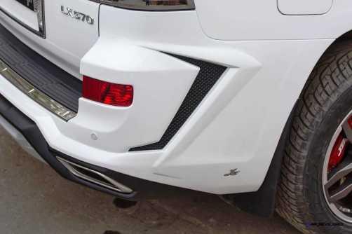 LARTE Design Lexus LX570 Alligator Bodykit White 28