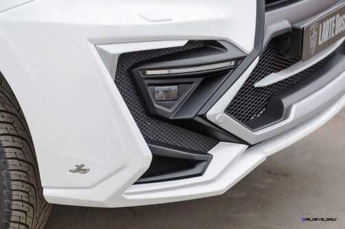 LARTE Design Lexus LX570 Alligator Bodykit White 32