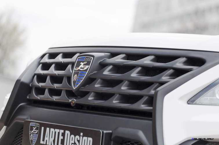 LARTE Design Lexus LX570 Alligator Bodykit White 40