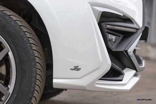 LARTE Design Lexus LX570 Alligator Bodykit White 46