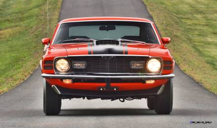 Mecum Harrisburg 2015 114_1970 Ford Mustang Mach 1 Fastback 7