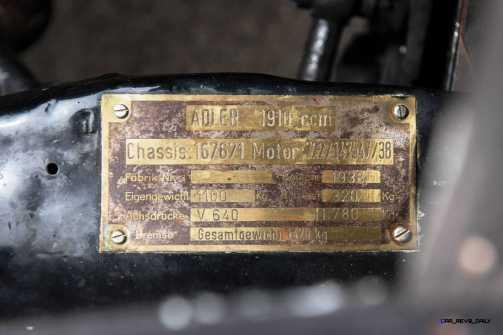 RM Monterey 2015 - 1938 Adler Trumpf Rennlimousine 13
