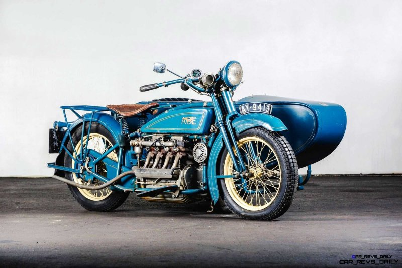 1925 Henderson De Luxe with Goulding Sidecar 1