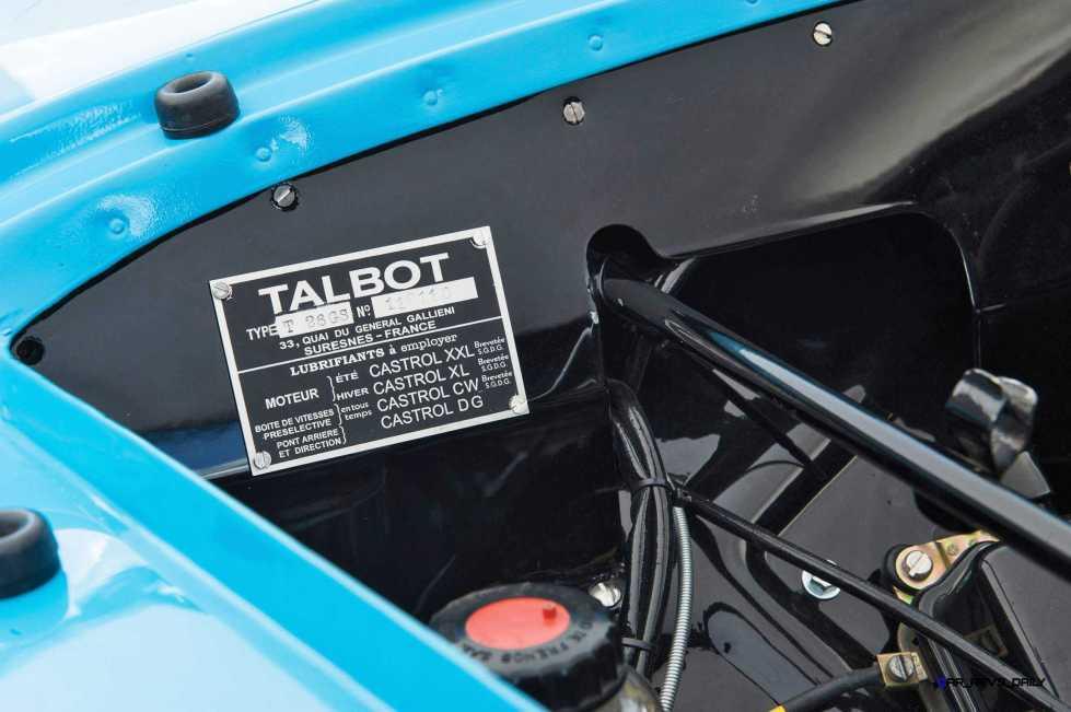 1948 Talbot-Lago T26 Grand Sport Cabriolet 12