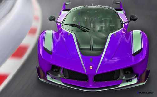 2015 Ferrari FXX K - Rendered COLORS Visualizer 12