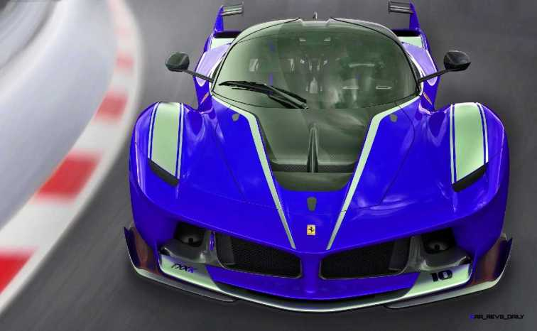 2015 Ferrari FXX K - Rendered COLORS Visualizer 14