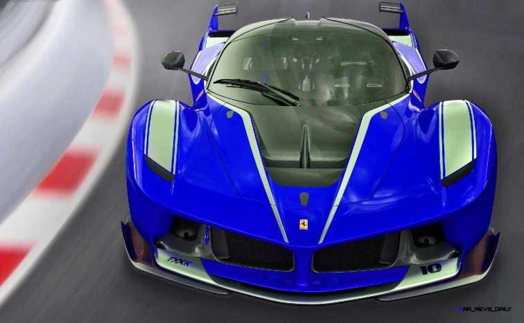 2015 Ferrari FXX K - Rendered COLORS Visualizer 15