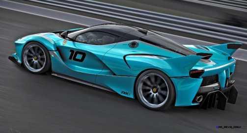 2015 Ferrari FXX K - Rendered COLORS Visualizer 47