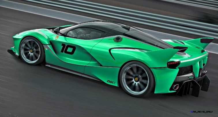 2015 Ferrari FXX K - Rendered COLORS Visualizer 50