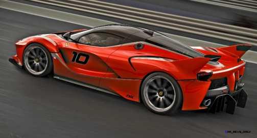 2015 Ferrari FXX K - Rendered COLORS Visualizer 57
