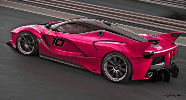 2015 Ferrari FXX K - Rendered COLORS Visualizer 58
