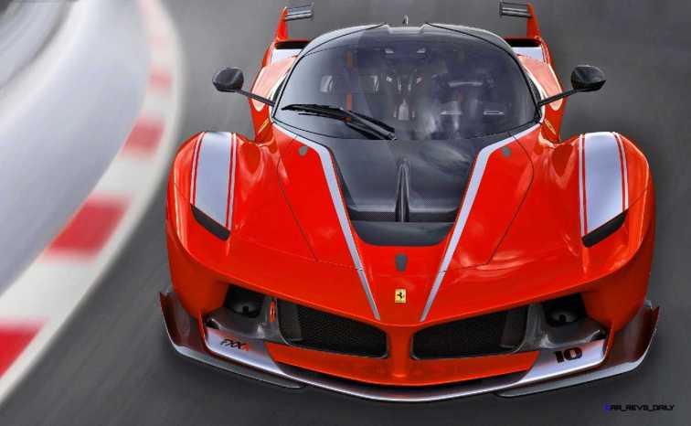 2015 Ferrari FXX K - Rendered COLORS Visualizer 8