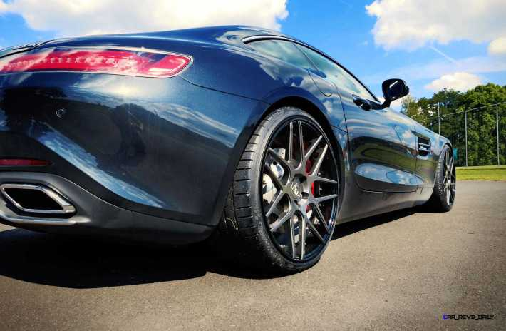 2015 Mercedes-AMG GT S LOMA GT1 Superlight Alloy Wheels 7