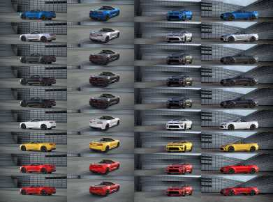 2016 Chevrolet CAMARO CONVERTIBLE Color Visualizer 18