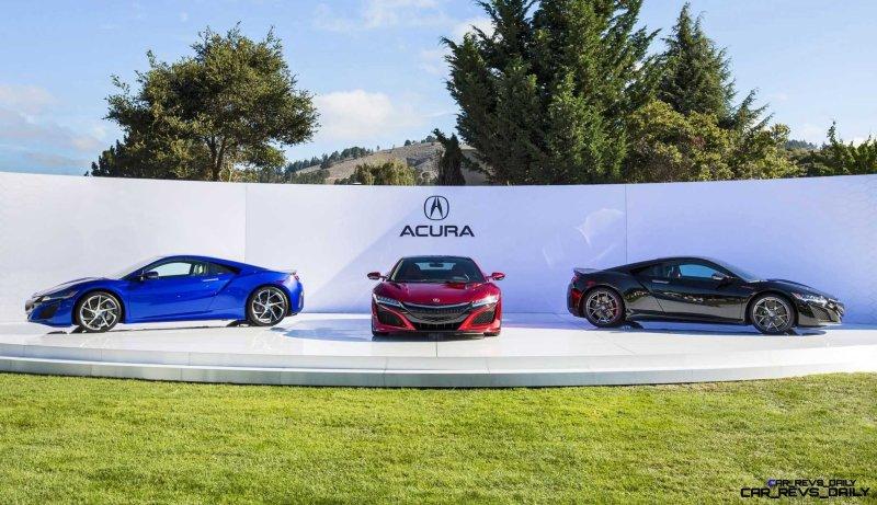 Acura NSX at The Quail 2015