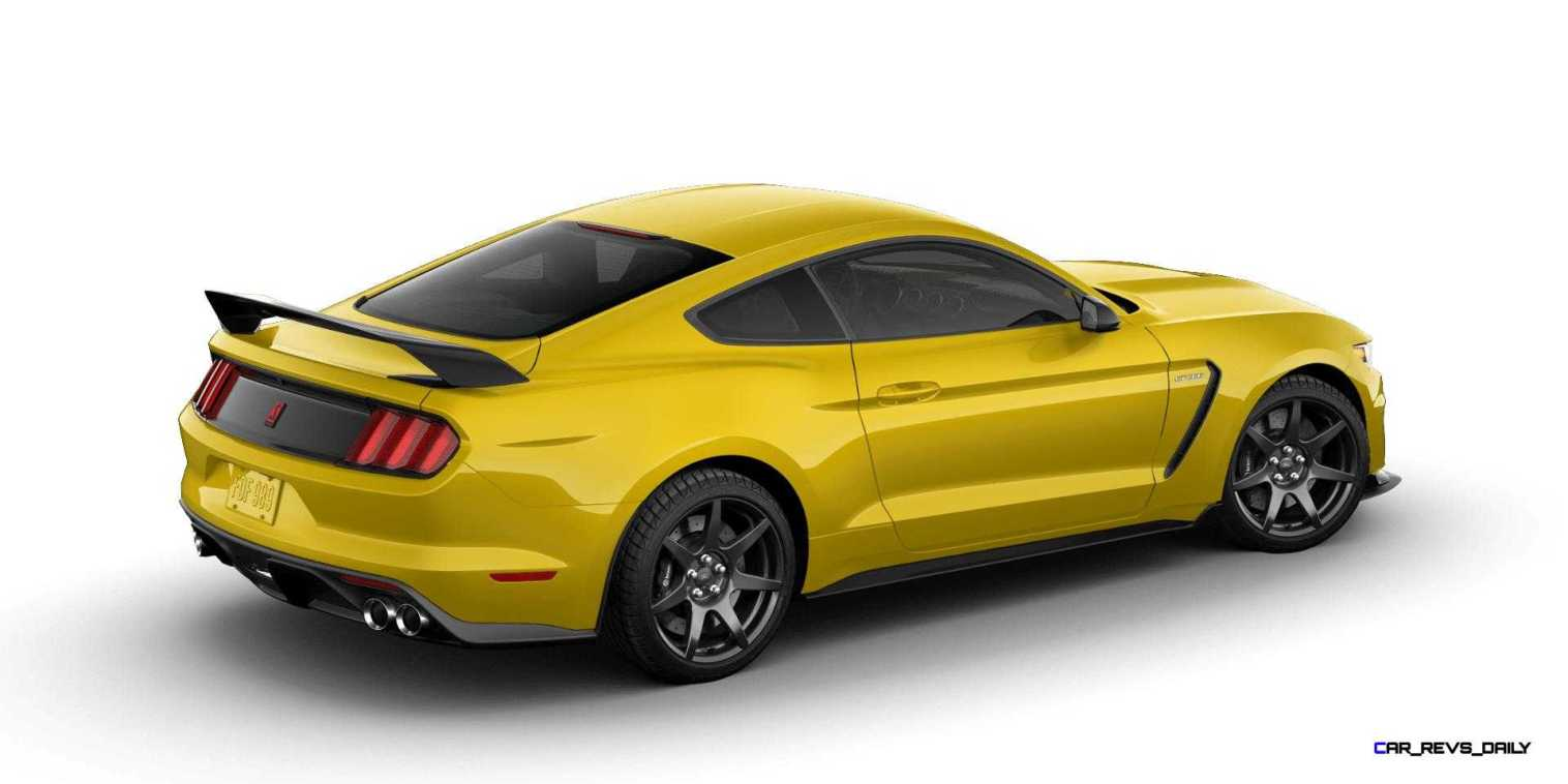 SHELBY GT350R Colors 23