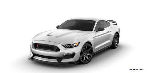 SHELBY GT350R Colors 33