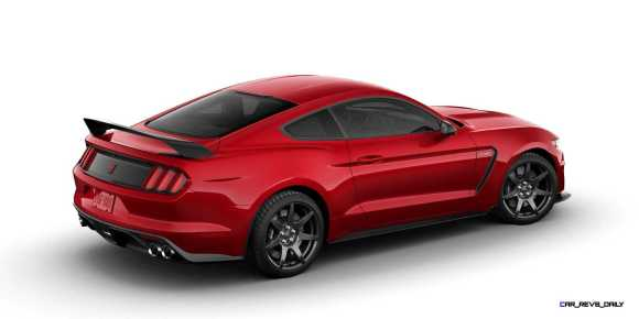 SHELBY GT350R Colors 7