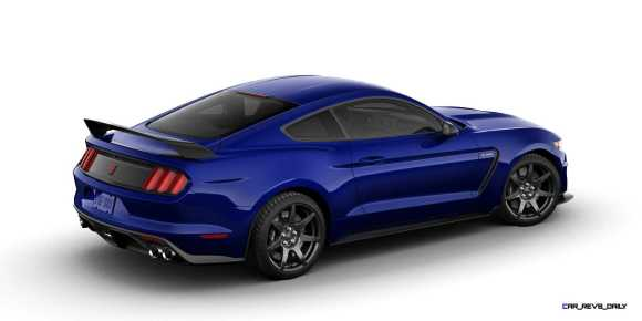 SHELBY GT350R Colors 8